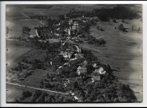 ZZ-3542/ Nederwangen Foto seltenes Luftbild ca.1938 18 x 13 cm