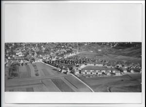 ZZ-3703/ Sindelfingen b. Stuttgart Foto seltenes Luftbild 1934 18 x 13 cm