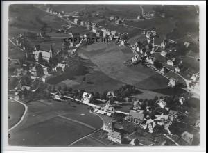 ZZ-3549/ Schonach Foto seltenes Luftbild ca.1938 18 x 13 cm