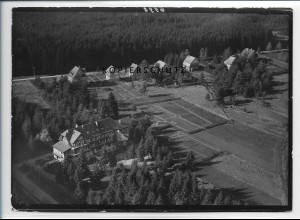 ZZ-3248/ Villingen Erholungsheim seltenes Foto Luftbild 1939 18 x 13 cm