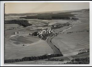 ZZ-3728/ Zell bei Riedlingen Foto seltenes Luftbild 1935 18 x 13 cm