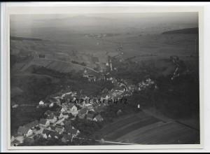 ZZ-3297/ Pflummern b. Riedlingen seltenes Foto Luftbild ca.1938 18 x 13 cm