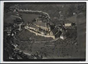 ZZ-3297/ Comburg b. Schwäbisch Hall seltenes Foto Luftbild 1934 18 x 13 cm
