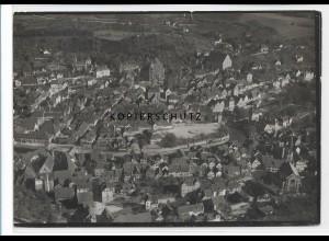 ZZ-3298/ Schwäbisch Hall seltenes Foto Luftbild ca.1935 18 x 13 cm