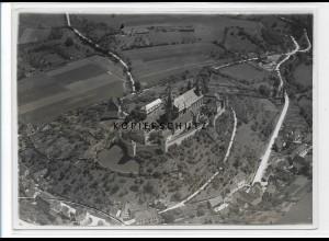 ZZ-3299/ Comburg b. Schwäbisch Hall seltenes Foto Luftbild 1935 18 x 13 cm