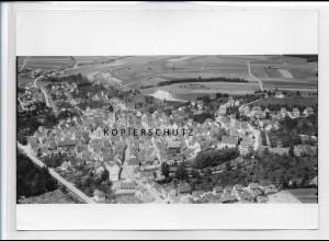 ZZ-3303/ Pfullendorf Foto seltenes Luftbild 1935 18 x 13 cm