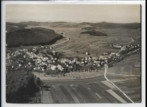 ZZ-3304/ Würtingen bei St. Johann Foto seltenes Luftbild 1935 18 x 13 cm