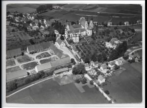 ZZ-3305/ Rot a.d. Rot Foto seltenes Luftbild 1938 18 x 13 cm