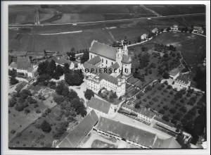 ZZ-3307/ Rot a.d. Rot Foto seltenes Luftbild 1938 18 x 13 cm