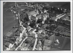 ZZ-3308/ Rot a.d. Rot Foto seltenes Luftbild 1938 18 x 13 cm