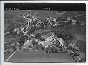 ZZ-3311/ Oberzell b. Ravensburg Foto seltenes Luftbild 1938 18 x 13 cm