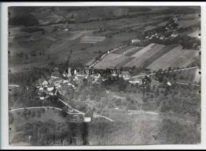ZZ-3312/ Großschönach b. Herdwangen Foto seltenes Luftbild 1938 18 x 13 cm