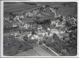 ZZ-3325/ Albertsweiler Foto seltenes Luftbild 1938 18 x 13 cm
