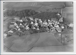 ZZ-3327/ Großtissen bei Bad Saulgau Foto seltenes Luftbild 1937 18 x 13 cm