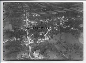 ZZ-3329/ Neufrach bei Salem Foto seltenes Luftbild 1937 18 x 13 cm
