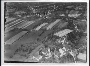 ZZ-3330/ Neufrach bei Salem Foto seltenes Luftbild 1937 18 x 13 cm