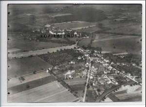ZZ-3331/ Stephansfeld bei Salem Foto seltenes Luftbild 1937 18 x 13 cm