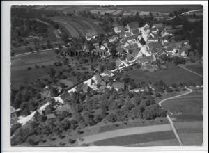 ZZ-3333/ Asperglen b. Rudersberg Foto seltenes Luftbild 1938 18 x 13 cm