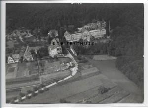 ZZ-3335/ Wilhelmsheim Lungenheilstätte Foto seltenes Luftbild 1937 18 x 13 cm