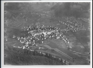 ZZ-3338/ Nusplingen Foto seltenes Luftbild 1937 18 x 13 cm