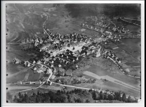 ZZ-3339/ Nusplingen Foto seltenes Luftbild 1937 18 x 13 cm