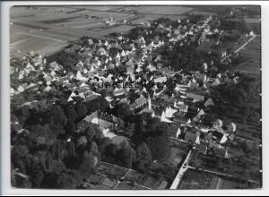 ZZ-3342/ Nieder-Stotzingen Foto seltenes Luftbild 1937 18 x 13 cm