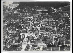 ZZ-3344/ Münsingen Foto seltenes Luftbild 1938 18 x 13 cm