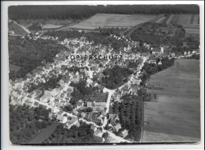 ZZ-3348/ Altheim Alb Foto seltenes Luftbild 1938 18 x 13 cm