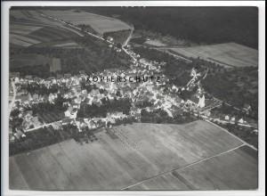 ZZ-3349/ Altheim Alb Foto seltenes Luftbild 1938 18 x 13 cm