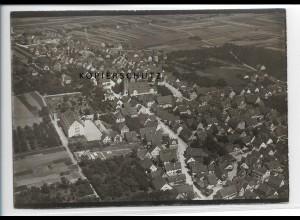 ZZ-3352/ Fellbach bei Stuttgart Foto seltenes Luftbild ca. 1938 18 x 13 cm
