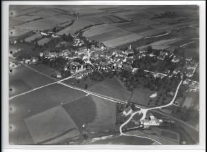 ZZ-3356/ Rot bei Laupheim Foto seltenes Luftbild ca.1935 18 x 13 cm