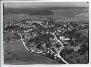 ZZ-3357/ Bernstadt Foto seltenes Luftbild 1935 18 x 13 cm