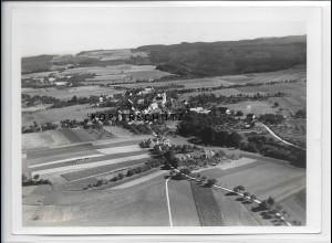 ZZ-3360/ Bergatreute Foto seltenes Luftbild 1935 18 x 13 cm