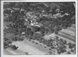 ZZ-3361/ Streich - Berglen Foto seltenes Luftbild 1938 18 x 13 cm