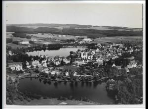 ZZ-3362/ Waldsee Foto seltenes Luftbild 1938 18 x 13 cm