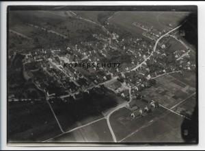 ZZ-3364/ Frickenhausen Foto seltenes Luftbild 1938 18 x 13 cm