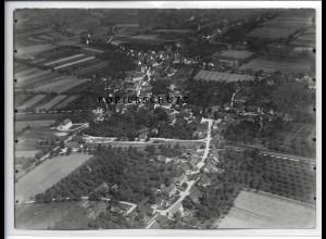 ZZ-3365/ Frickingen Foto seltenes Luftbild 1938 18 x 13 cm