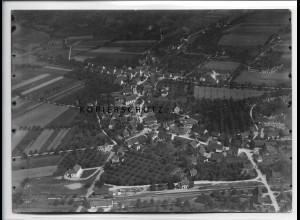 ZZ-3366/ Frickingen Foto seltenes Luftbild 1937 18 x 13 cm