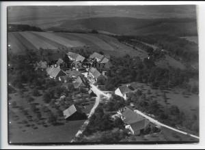 ZZ-3368/ Kuchalb bei Donzdorf Foto seltenes Luftbild 1936 18 x 13 cm