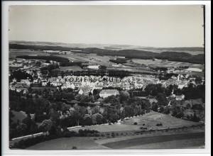 ZZ-3370/ Waldsee Foto seltenes Luftbild 1935 18 x 13 cm