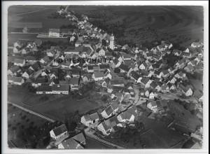 ZZ-3322/ Großengstingen Foto seltenes Luftbild 1937 18 x 13 cm