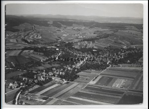 ZZ-3315/ Flein bei Heilbronn Foto seltenes Luftbild 1936 18 x 13 cm
