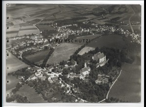 ZZ-3372/ Erbach (Donau) Foto seltenes Luftbild ca.1938 18 x 13 cm