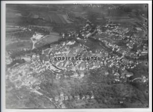 ZZ-3373/ Hechingen Foto seltenes Luftbild ca.1938 18 x 13 cm