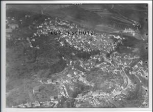 ZZ-3374/ Hechingen Foto seltenes Luftbild ca.1938 18 x 13 cm