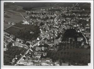 ZZ-3708/ Hülben Foto seltenes Luftbild 1939 18 x 13 cm