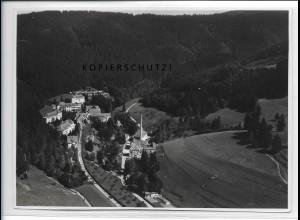 ZZ-3375/ Heilstätte Überruh bei Isny Foto seltenes Luftbild ca.1938 18 x 13 cm