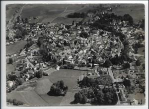 ZZ-3377/ Isny Foto seltenes Luftbild 1937 18 x 13 cm