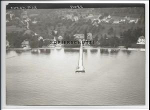 ZZ-3379/ Kressbronn am Bodensee Foto seltenes Luftbild ca.1938 18 x 13 cm