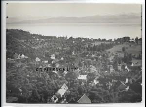 ZZ-3380/ Hemmighofen - Nonnenbach Foto seltenes Luftbild 1935 18 x 13 cm